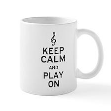 Keep Calm Treble Clef Mug