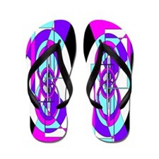 Flamboyant Flip Flops Abstract 5
