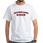 Netherlands Native White T-Shirt