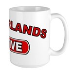 Netherlands Native Large Mug