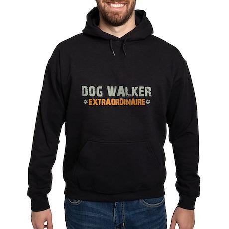 Dog Walker Extraordinaire Hoodie (dark)
