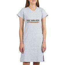 Dog Walker Extraordinaire Women's Nightshirt