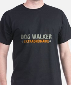 Dog Walker Extraordinaire T-Shirt