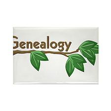 Genealogy Branch Rectangle Magnet (10 pack)