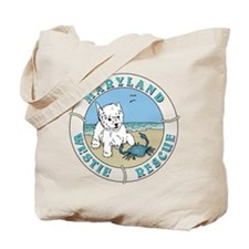 Unique Westie rescue Tote Bag