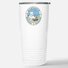 Unique Rescue westie Travel Mug