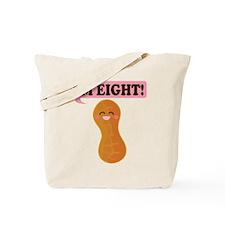 8th Birthday Kawaii Peanut Tote Bag