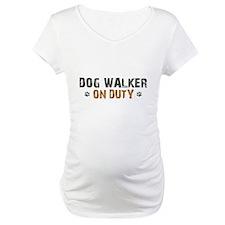 Dog Walker On Duty Shirt