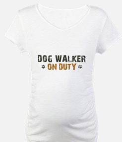Dog Walker On Duty Shirt