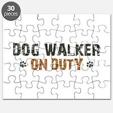 Dog Walker On Duty Puzzle