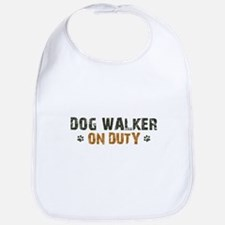 Dog Walker On Duty Bib
