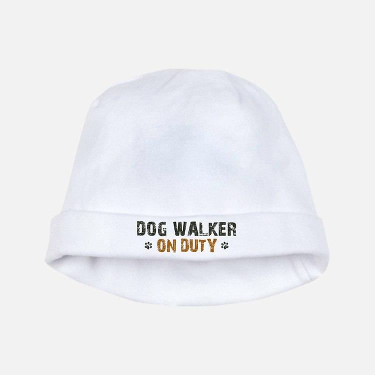 Dog Walker On Duty baby hat