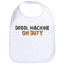 Drool Machine On Duty Bib