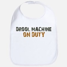 Drool Machine On Duty Bib