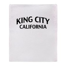 King City California Throw Blanket