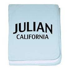 Julian California baby blanket