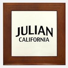 Julian California Framed Tile