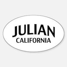 Julian California Decal