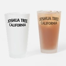 Joshua Tree California Drinking Glass