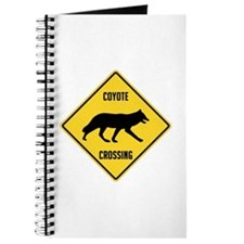 Coyote Crossing Sign Journal