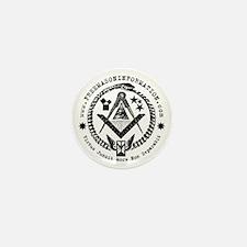 Freemason Information Mini Button.