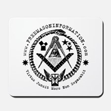 Freemason Information Mousepad
