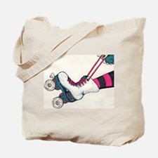 Roller Girl Tote Bag