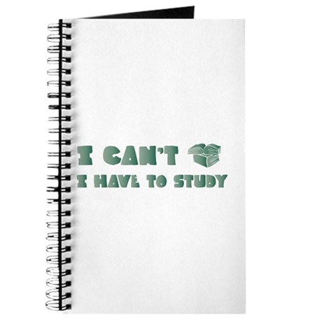 Have to Study Journal