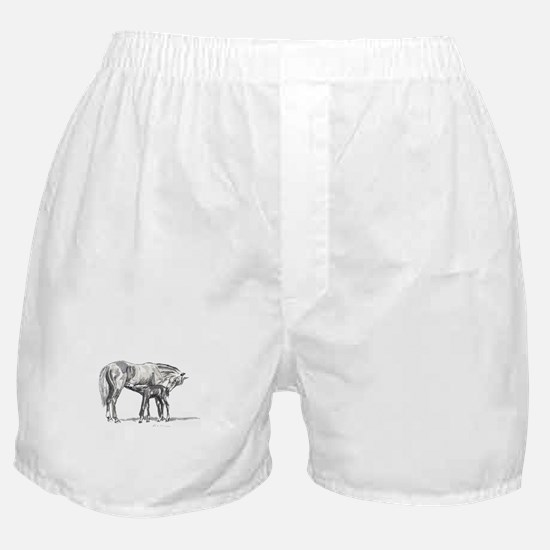 Mare and Foal Boxer Shorts