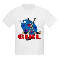 Hockey Girl Kids T-Shirt