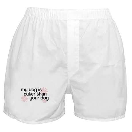 Mine's Cuter! Boxer Shorts