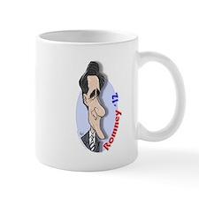 Mitt Romney Cartoon Coffee Mug