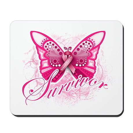 Survivor - Breast Cancer Mousepad