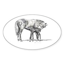 Mare and Foal Decal