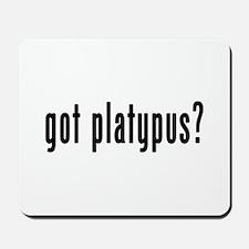 GOT PLATYPUS Mousepad