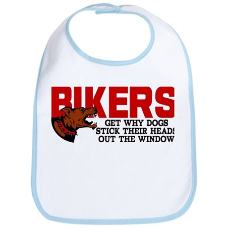 Bikers Head Out Window Bib