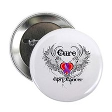 """Cure GIST Cancer 2.25"""" Button"""