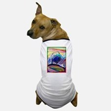 Buffalo, colorful, art, Dog T-Shirt