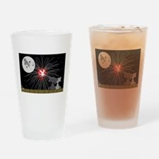 July Fourth Drinking Glass