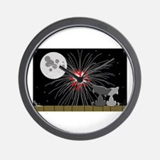 July Fourth Wall Clock