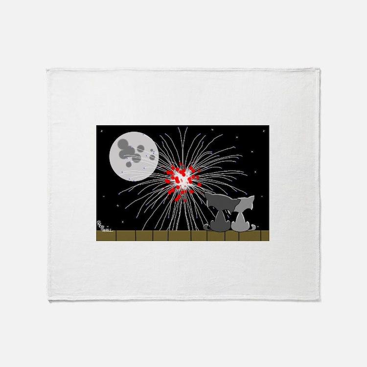 July Fourth Throw Blanket