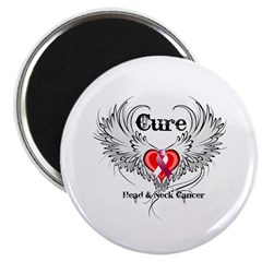 Cure Head Neck Cancer Magnet