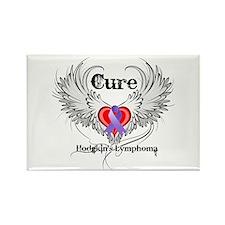 Cure Hodgkins Lymphoma Rectangle Magnet