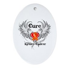 Cure Kidney Cancer Ornament (Oval)