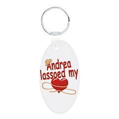 Andrea Lassoed My Heart Keychains