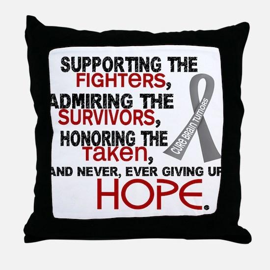 © Supporting Admiring 3.2 Brain Cancer Shirts Thro