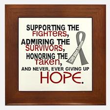 © Supporting Admiring 3.2 Brain Cancer Shirts Fram