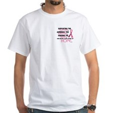 © Supporting Admiring 3.2 Breast Cancer Shirts Whi