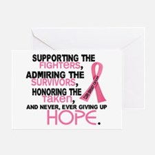 © Supporting Admiring 3.2 Breast Cancer Shirts Gre