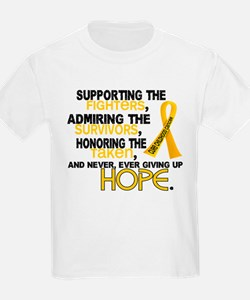 © Supporting Admiring 3.2 Childhood Cancer Shirts